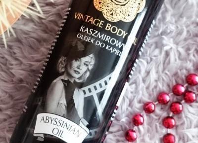 Kaszmirowy olejek do kąpieli Spa Vintage Body
