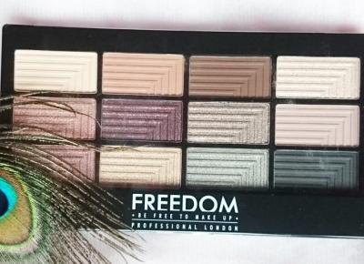 Paleta 12 cieni do powiek Freedom