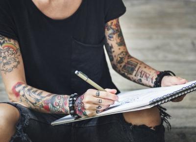 Tatuaże jak z komiksu?