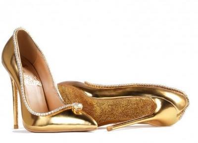 Tak wyglądają najdroższe buty świata. Kosztują ponad 62 mln złotych!