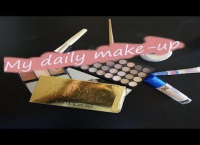 My daily make-up| #Kawałekpodłogi