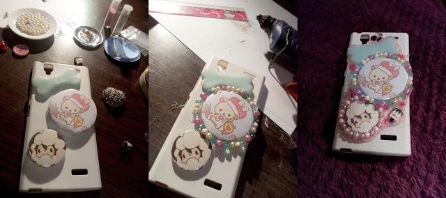 Koneko Senpai: Decoden phone case DIY