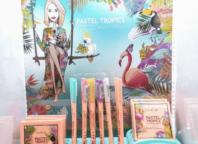 Najnowsza kolekcja kosmetyków lovely Pastel Tropics już dostępna w Rossmannie. Jest jeszcze piękniejsza niż się wydawało!