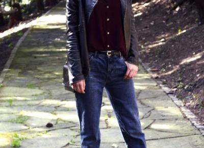 black pearl : Look of The Day - mom jeans