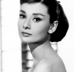 black pearl : Audrey Hepburn style