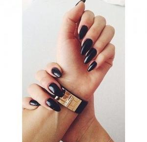 black pearl : Nails inspirations