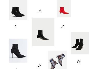 black pearl: Najmodniejsze buty na jesień z sieciówek