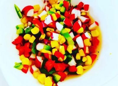 FIT salsa warzywna - 80 kcal | Kreatyvna