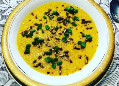 Przepisy kulinarne - Zupa krem z kukurydzy | Kreatyvna