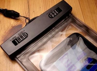 Wodoodporne i wodoszczelne etui, czyli test ciekawego pokrowca na telefon :: KupPanGadżet