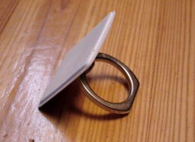 Gadżet do telefonu z Aliexpress - uchwyt iRing a'la pierścionek :: KupPanGadżet