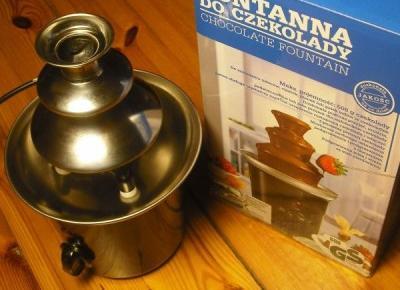 Fontanna czekoladowa - test ciekawego gadżetu do domu :: KupPanGadżet