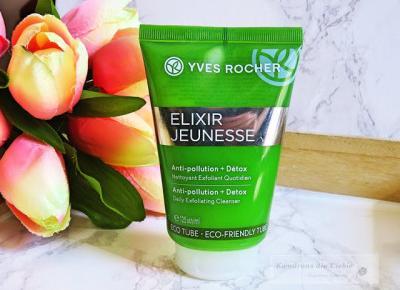 Yves Rocher Detoksykujący żel do mycia twarzy - Kwadrans dla Ciebie