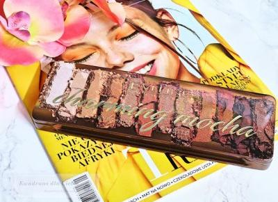 Eveline Charming Mocha Eyeshadow Palette - recenzja palety cieni do powiek - Kwadrans dla Ciebie