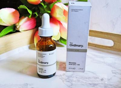 The Ordinary Mandelic Acid 10% + HA - peeling z kwasem migdałowym i hialuronowym - Kwadrans dla Ciebie