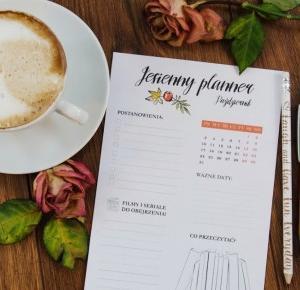 LadyAwa Blog: Jesienne plannery na październik i listopad!