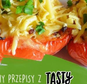 LadyAwa Blog: Testujemy przepisy z Tasty #6 - Zapiekana papryka