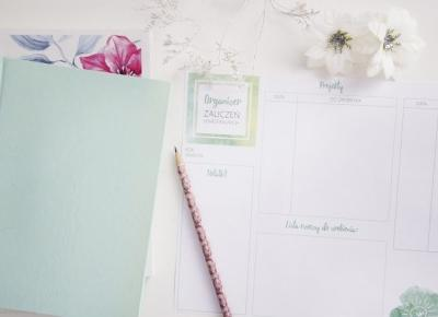 LadyAwa Blog: Organizer zaliczeń semestralnych - do druku!