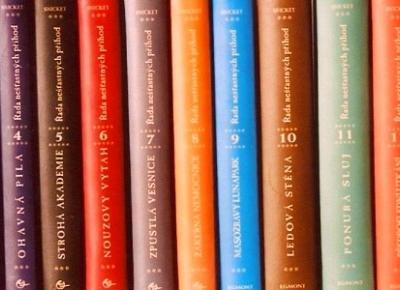 13 nieszczęść w 13 książkach - Recenzja serii