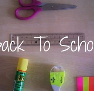 Back To School #1 - Less Is More