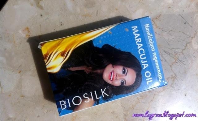 Biosilk, nawilżająca regeneracja, Maracuja Oil | Blog Fashion and Beauty - Personal by Leyraa