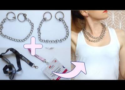 DIY łańcuch do spodni lub podwójny naszyjnik 👌