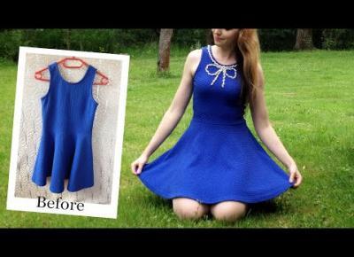 DIY sukienka z perełkami 👗 inspiracja Veronica Lodge (Camila Mendes) Riverdale
