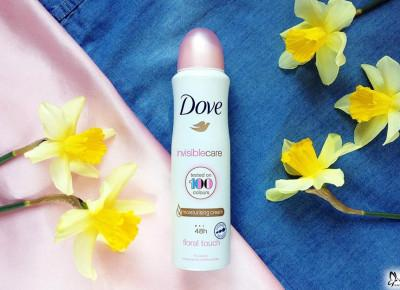 Dove Antyperspirant w aerozolu Woman Invisible Care | Blog Fashion and Beauty - Personal by Leyraa