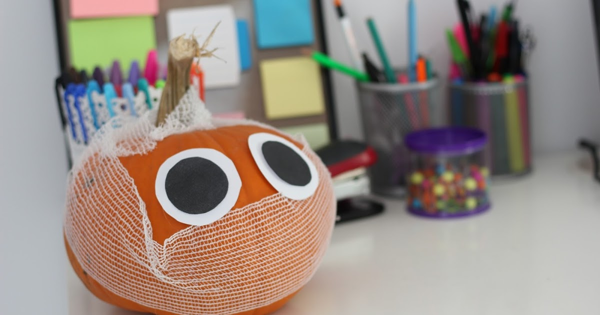 DIY PUMPKIN MUMMY! | Pinterst Inspired