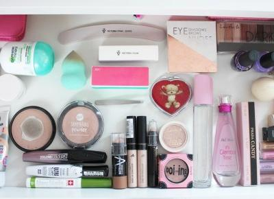 My Vanity + Makeup collection!