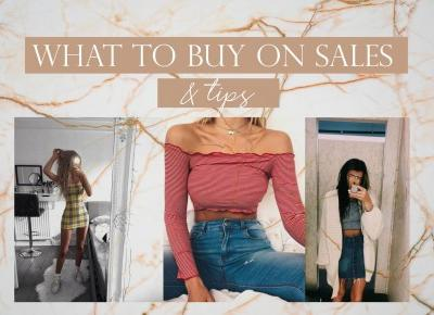What to buy on sales + tips