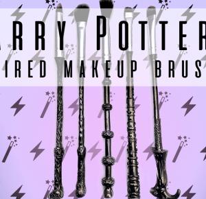 DIY Harry Potter Inspired Makeup Brushes!