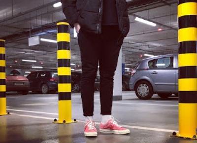 Moje pierwsze sneakersowe zakupy w 2018 roku! Pierwszy film na YOUTUBE! Converse One Star Golf Le Fleur!