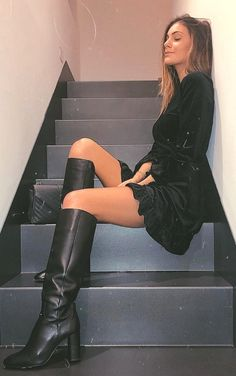 ,:  - KNEE HIGH BOOTS - inspirations