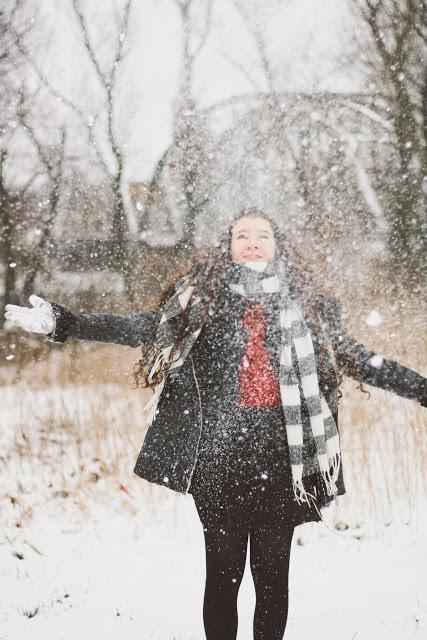 ,: Snow again!