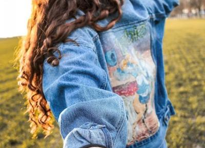 ,:  💙 Stylizacja all jeans 💙