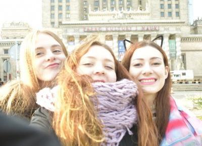 Lucy-chan: ✎O trzech takich co z domu uciekły, czyli jak dobrze spędzić weekend w Warszawie