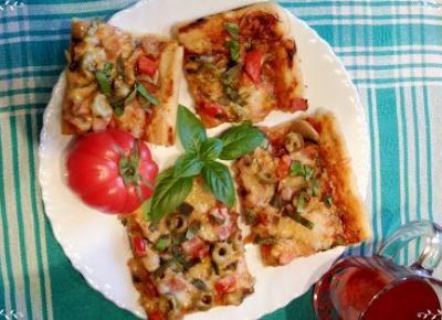 Po prostu Lukrecjjja: Wyśmienita domowa pizza (przepis)