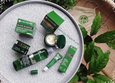 Aphloia - lek na oznaki zmęczenia, zanieczyszczenia i starzenie się skóry. Seria Elixir Jeunesse - Yves Rocher.