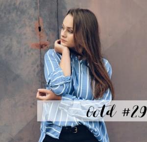 Magdeł: OOTD 29 - Pasiasta Koszula
