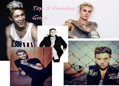 TOP 5 Famous Guys