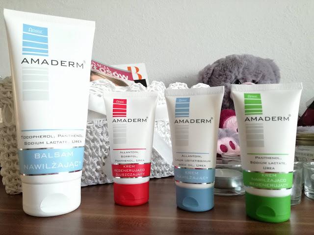 Intensywne nawilżanie skóry z marką AMADERM - Malinowe C.