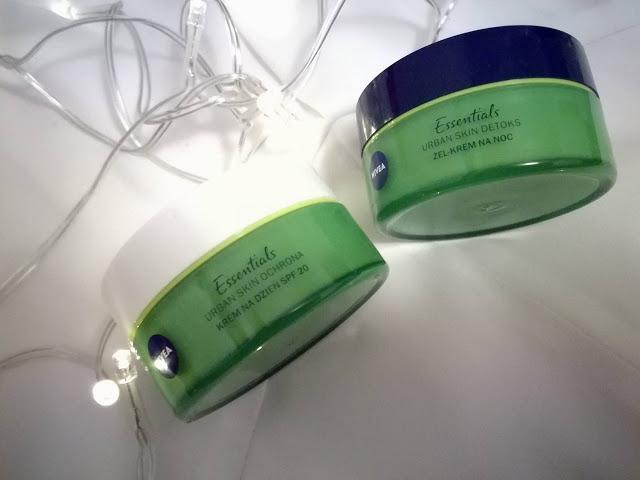 NIVEA Urban Skin - kwas hialuronowy, antyoksydanty i bio zielona herbata - Malinowe C.