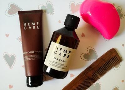 HEMP CARE | Szampon i odżywka z organicznym olejem konopnym - Malinowe C.
