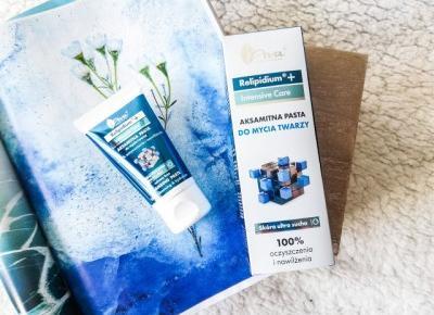 Pasta do mycia twarzy | AVA Relipidium - Malinowe C.