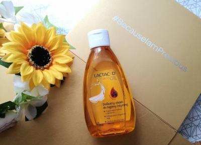 LACTACYD Precious Oil | delikatny olejek do higieny intymnej - Malinowe C.