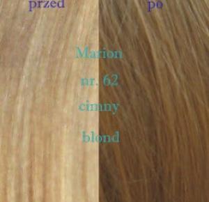 Od niczego do pięknego ! : Szamponetka firmy Marion nr. 62 - ciemny blond