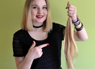 Od niczego do pięknego ! : Ścięłam prawie 0,5m włosów!!!