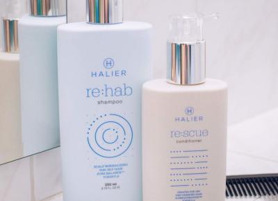 Mar  Lena: Pielęgnacja włosów z marką Halier  |  topestetic