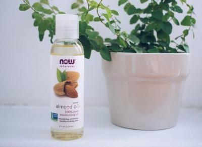 Mar  Lena: Olejek ze słodkich migdałów - idealny naturalny demakijaż i nie tylko